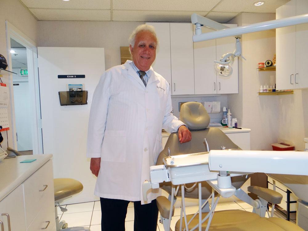 Dr. Vine's procedure room